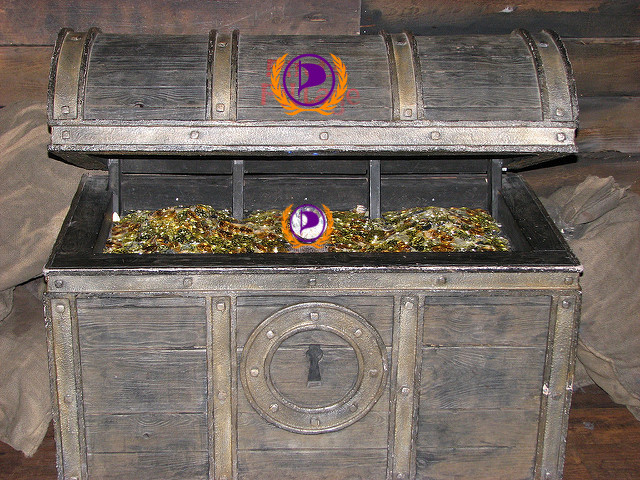 treasure chest with PPI logo